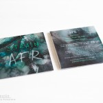 Strain EP AFR albumhoes drukwerk cd band artwork Eline Kentie grafisch ontwerp design fotografie abstract duister sfeervol